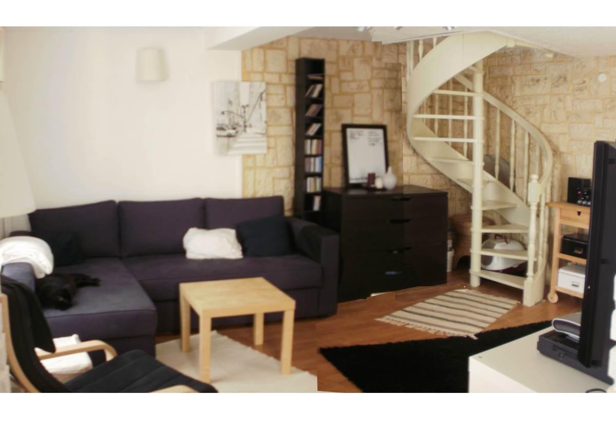 r alisation de la d coration d un salon. Black Bedroom Furniture Sets. Home Design Ideas