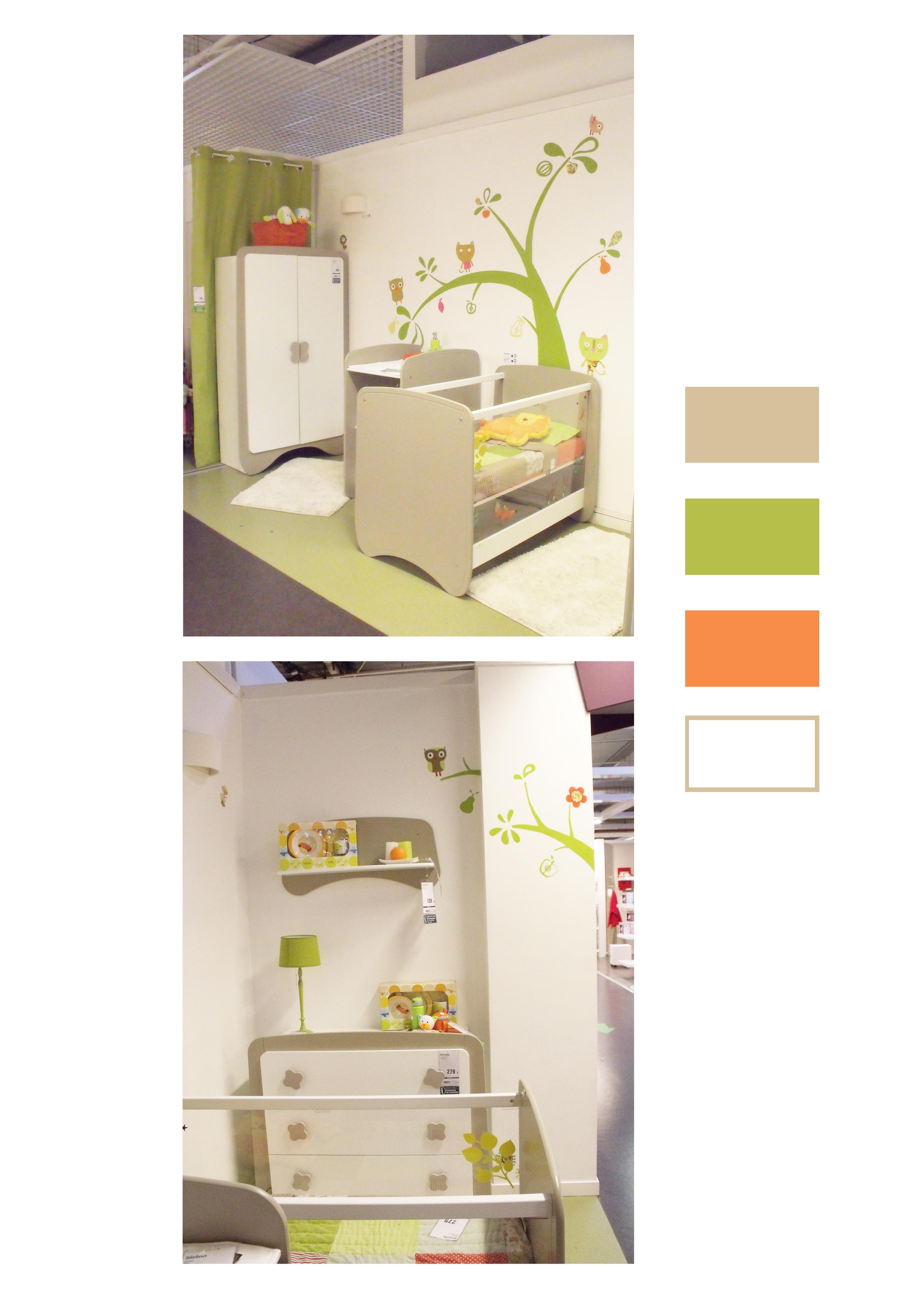 d coration d une chambre d enfant mixte. Black Bedroom Furniture Sets. Home Design Ideas