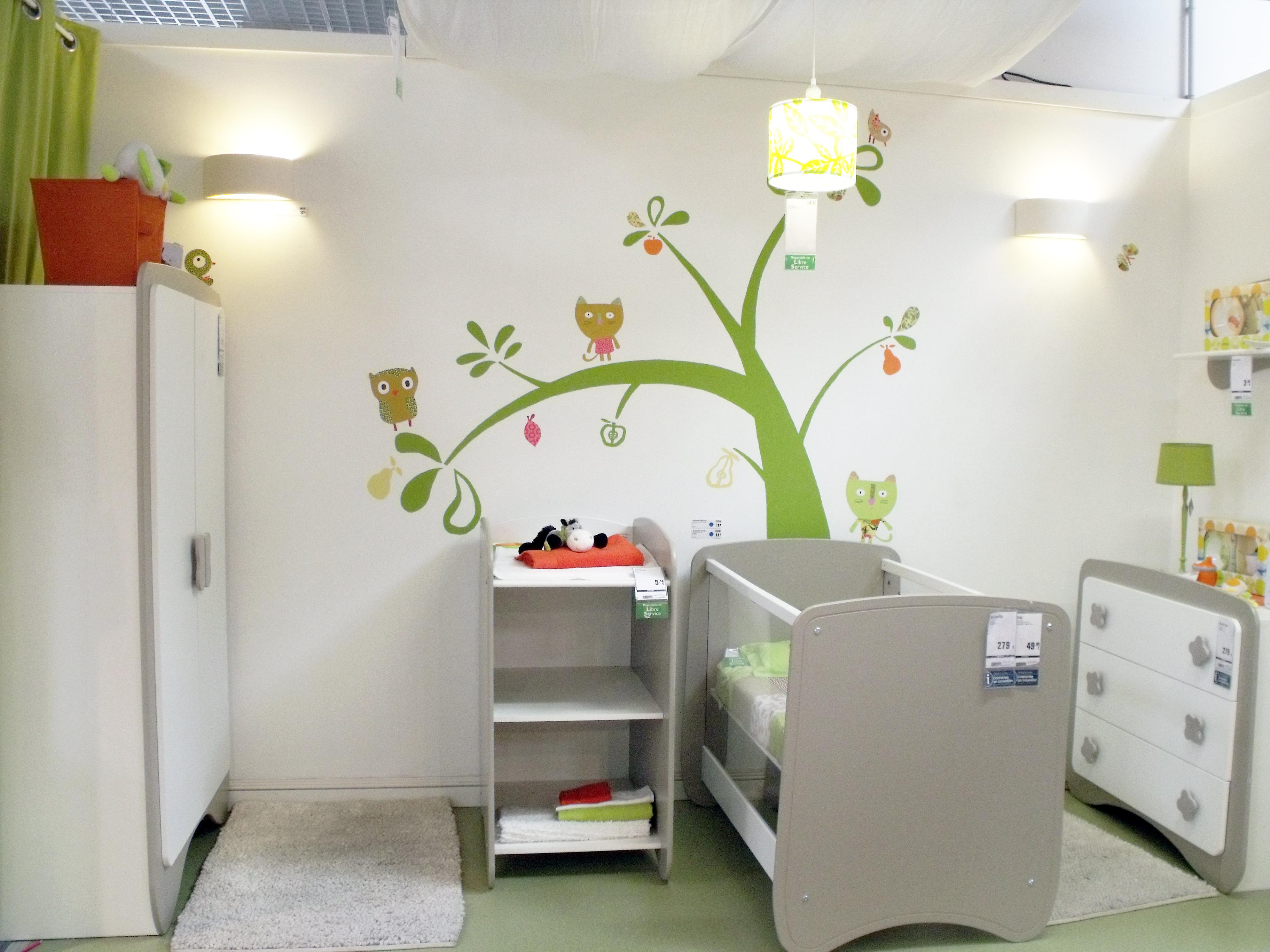 Peinture chambre mixte - Idee peinture chambre enfant ...