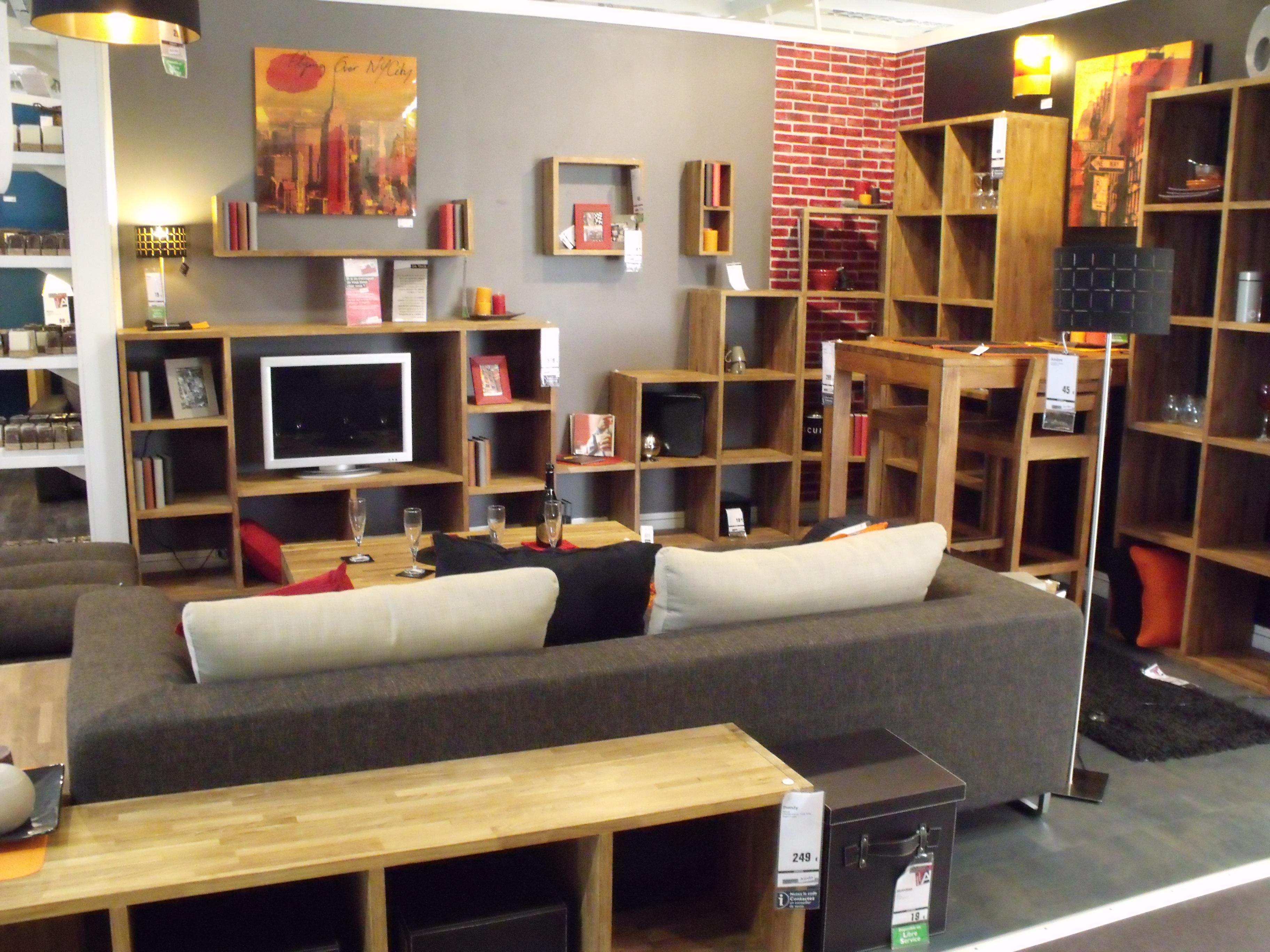 D Coration D Un Salon Style Loft